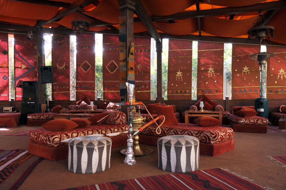 Grand pyramids hotel the bedouin tent offers a true