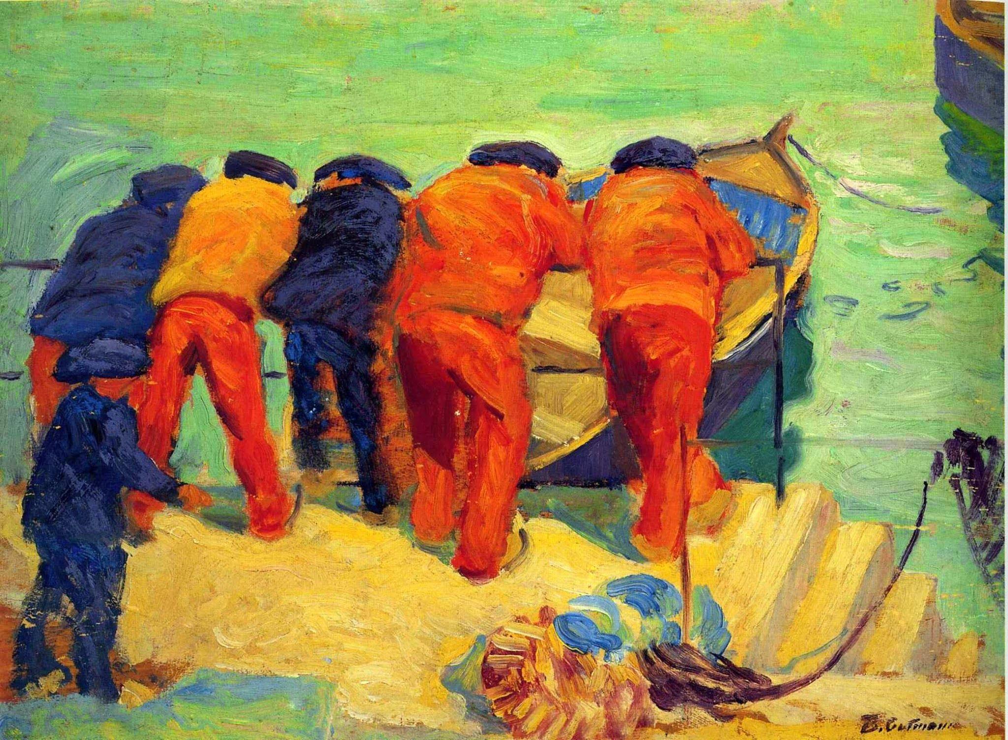 Bernhard Gutmann American Impressionism Paintings