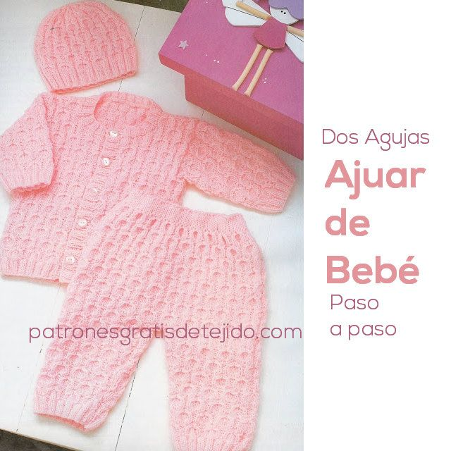 Two needles patterns with molds and scatterplot drinks Ajuar Gorro Bebe Dos  Agujas c1c575a27486