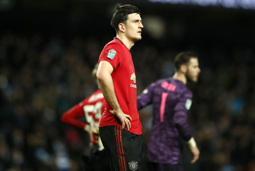 Manchester United Captain Harry Maguire Takes Positives From Etihad Win Fourfourtwocatch All Of The Action With Numediaent In 2020 Manchester Captain