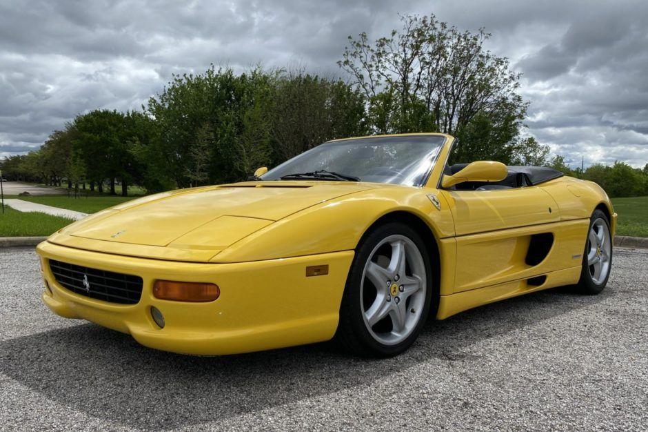 25kMile 1997 Ferrari F355 Spider 6Speed in 2020