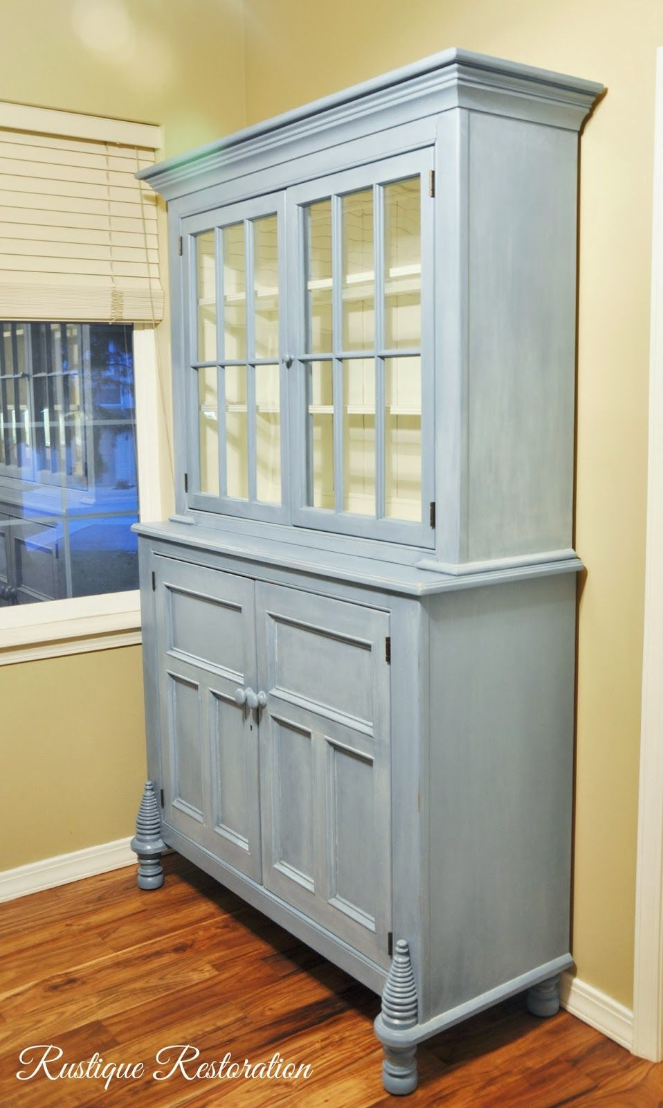 Rustique Restoration: Gorgeous French Country Hutch Makeover | For ...