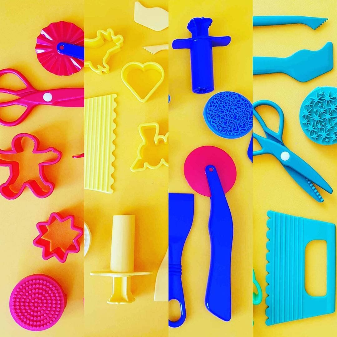 Playdough Tool Sets by Colour