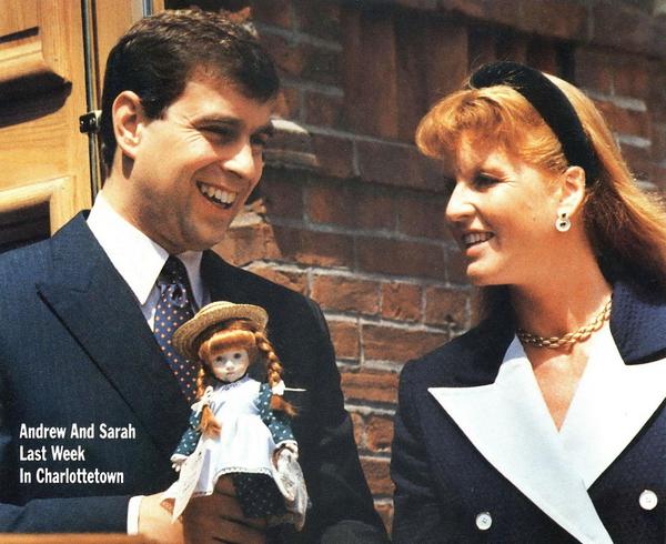 Fergie & Andrew 1989 Sarah duchess of york, Duchess of