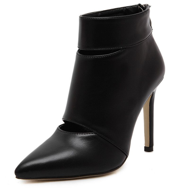 Fashion Pointed Ankle Boots