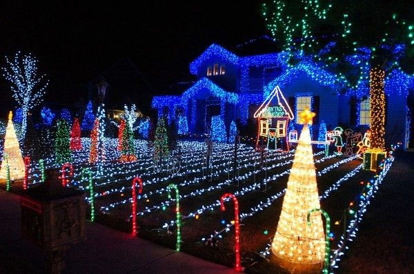 Christmas Lights Display Ideas Home