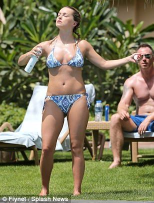 Strictly Come Dancing star Ola Jordan flashes assets for