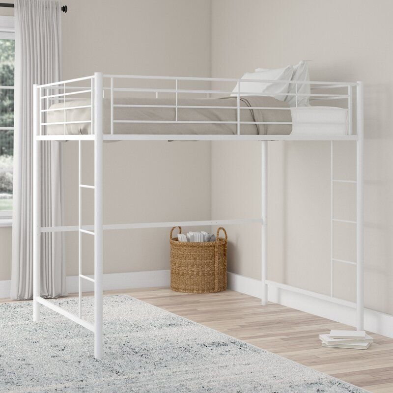 Maurice Full Bed Twin Loft Bed Loft Bed Frame Low Loft Beds