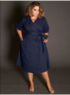 Toccara Plus Size Sweater Tunic in Purple | Work outfits