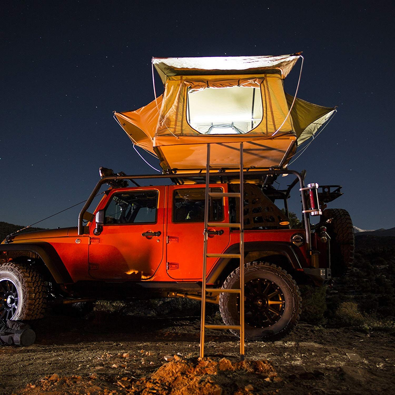 Smittybilt Overlander Tent Truck bed tent, Car roof