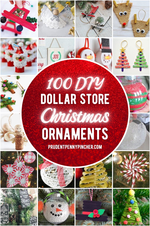 100 Dollar Store Diy Christmas Ornaments In 2020 Dollar Store Christmas Crafts Diy Christmas Ornaments Dollar Store Christmas Diy