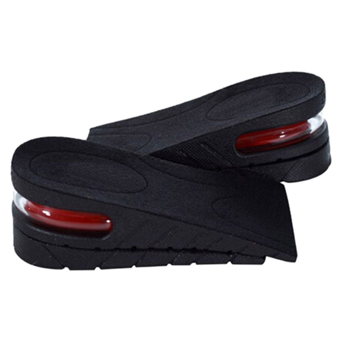 Mens Air Cushion Height Increase Shoes Insoles Lift taller