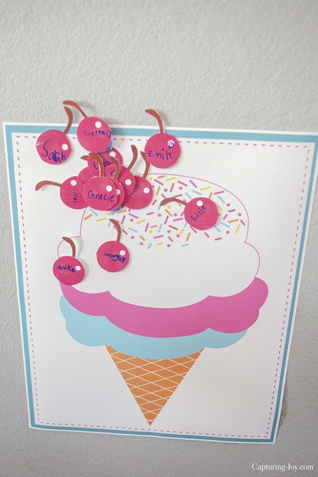 40 Awesome Ice Cream Party Ideas #icecreambirthdayparty