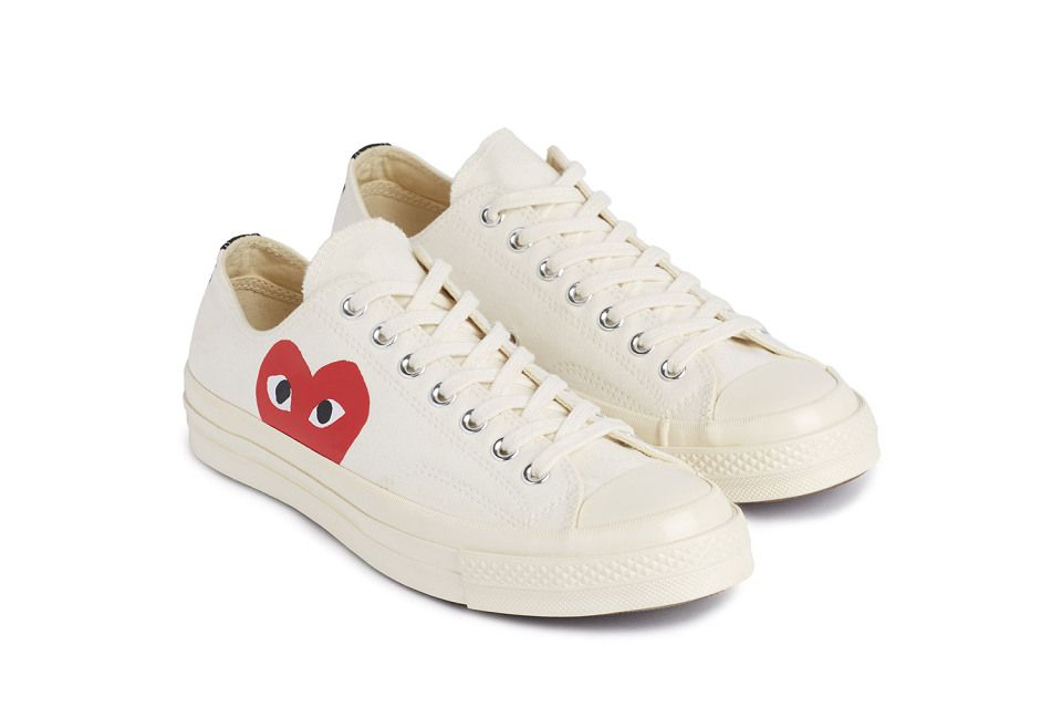 COMME des GARCONS PLAY x Converse Chuck Taylor All Star' 70 ...