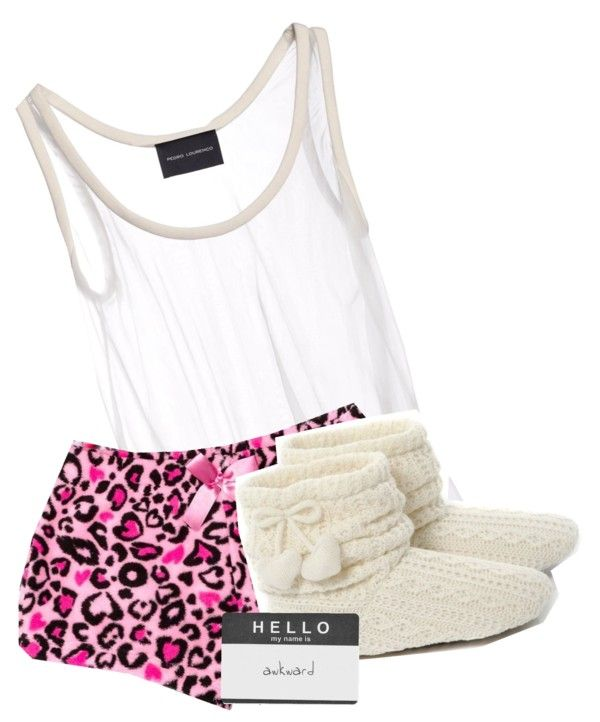 """– & jammies. ^_^"" by selalatothegomezanon ❤ liked on Polyvore"