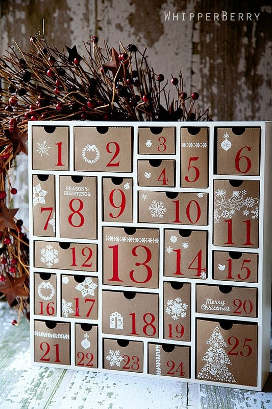 40 Awesome And Creative Christmas Advent Calendars