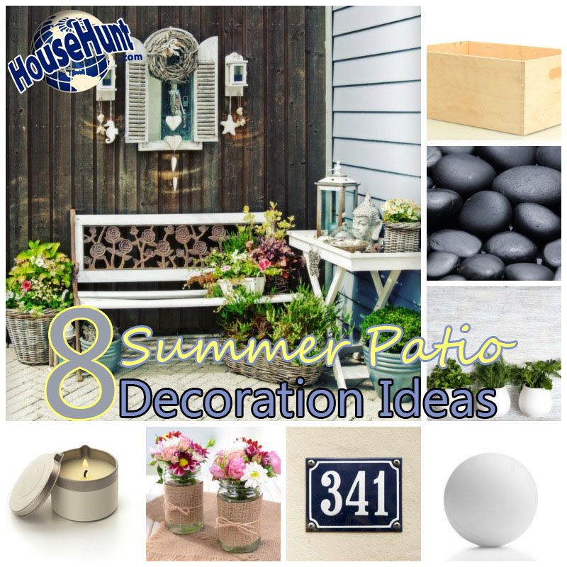 8 Summer Patio Decoration Ideas