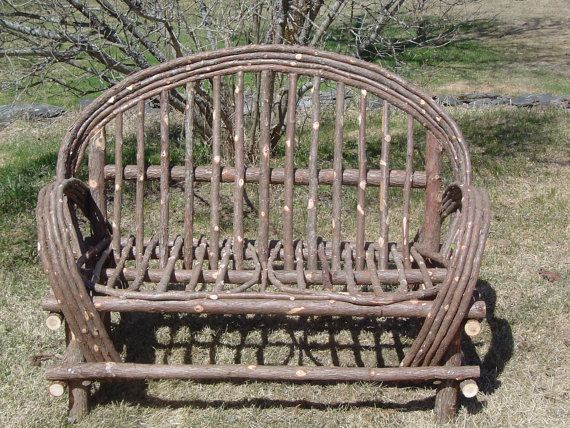 Rustic Cedar Twig Settee ,Twig Furniture,Local Pick up only
