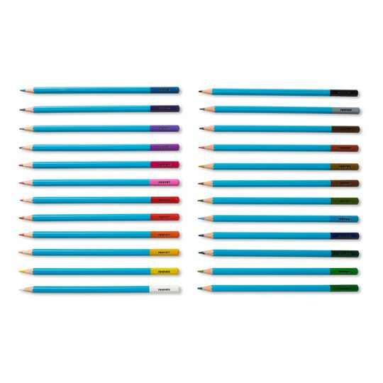Reeves Watercolour Pencils Set Of 24 Michaels Watercolor
