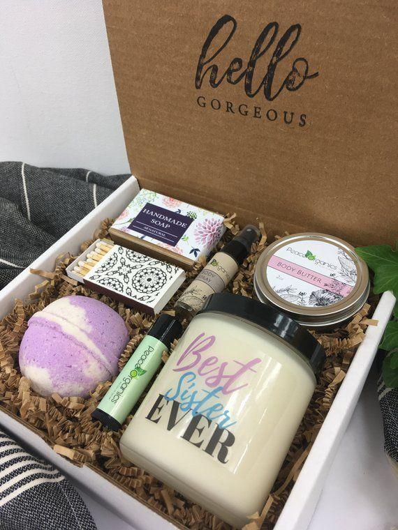 Geburtstagsgeschenk für Schwester | Stiefschwester anwesend | Geschenkideen | Natürliche Spa Box | Vielen Dank Spa Box | Bad Geschenk | Einzigartige Geschenkideen   - gifts - #anwesend #bad #box #dank #einzigartige #für #Geburtstagsgeschenk #Geschenk #Geschenkideen #gifts #Natürliche #Schwester #spa #Stiefschwester #vielen #giftsforsister