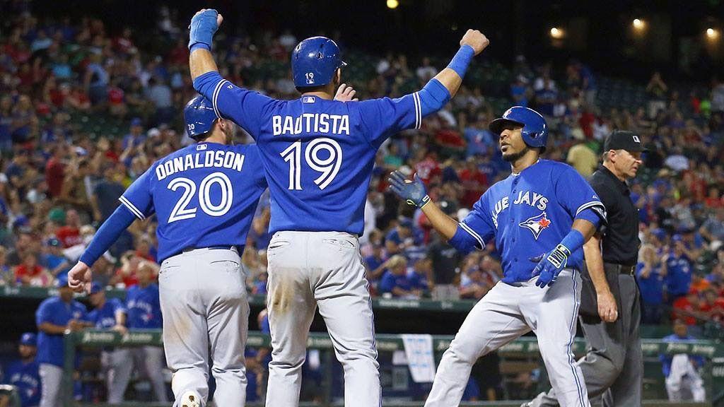 Josh Donaldson, Jose Bautista, Edwin Encarnacion Toronto