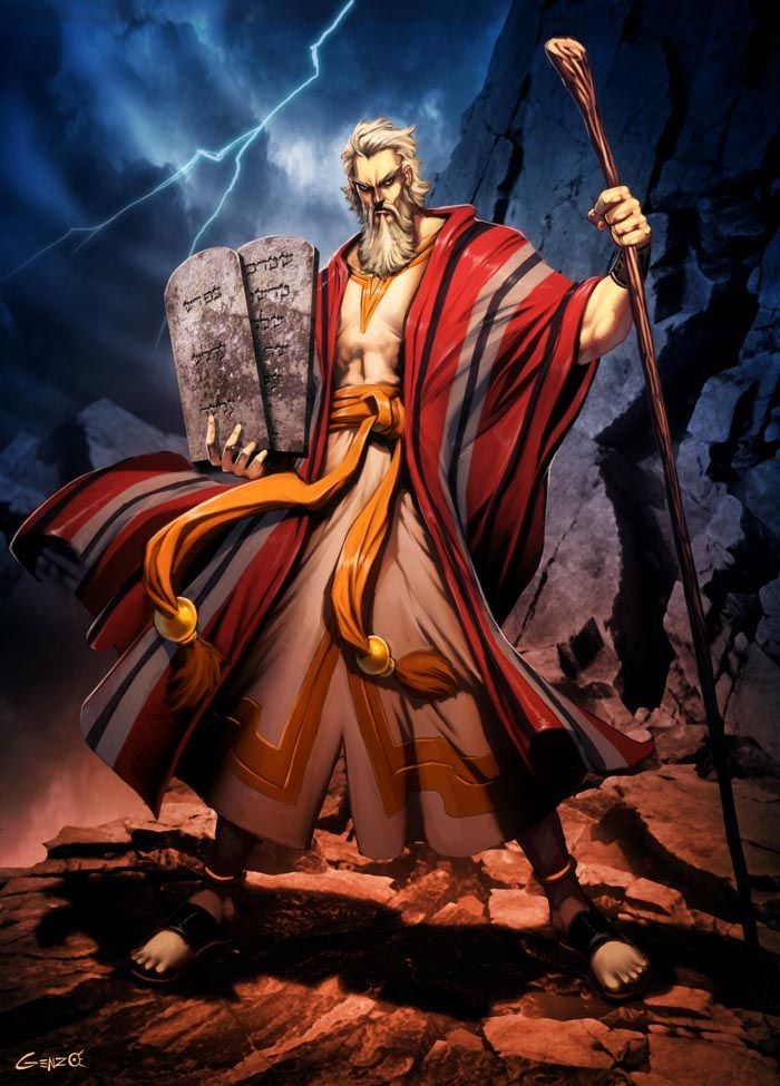 Moses by *GENZOMAN Moses is a Biblical Hebrew religious