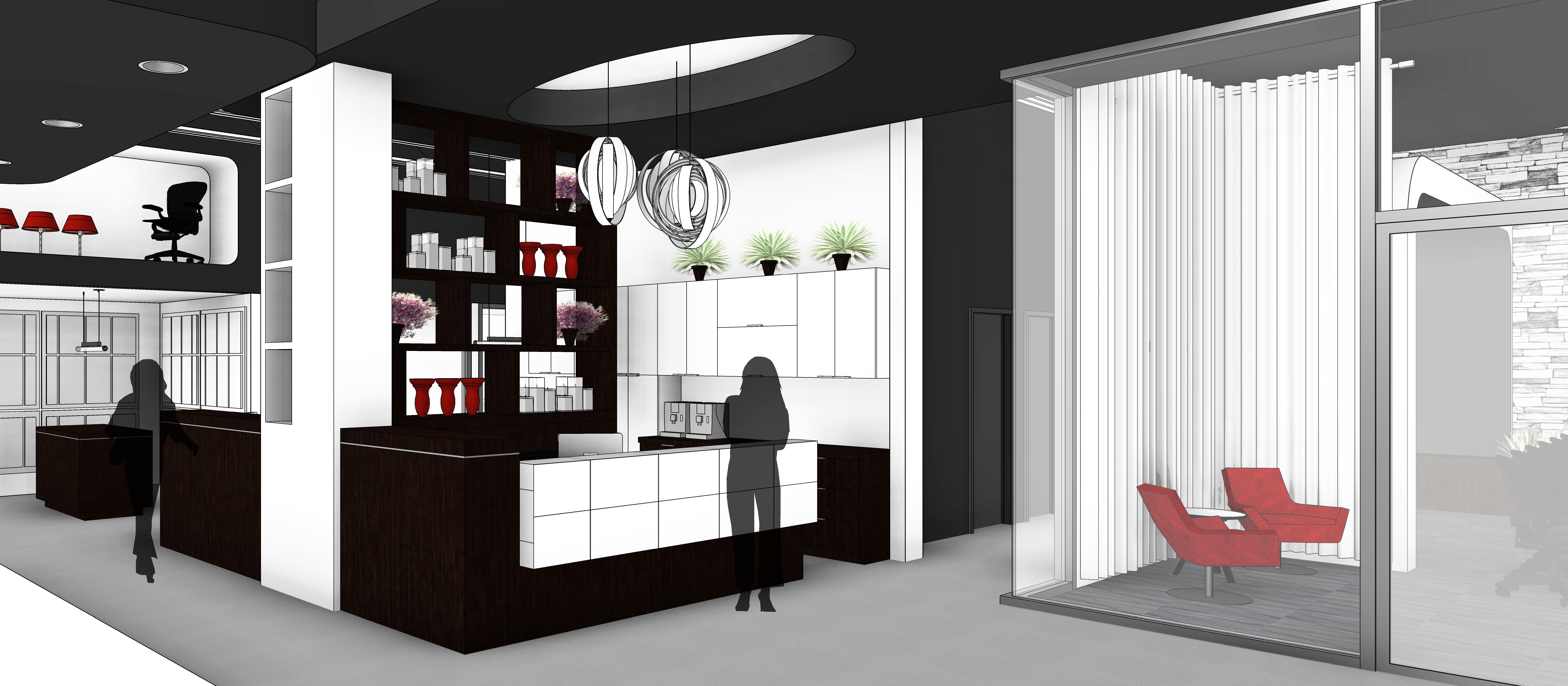 Boutique France Arcand // Illustration 19D couleur  Дизайн