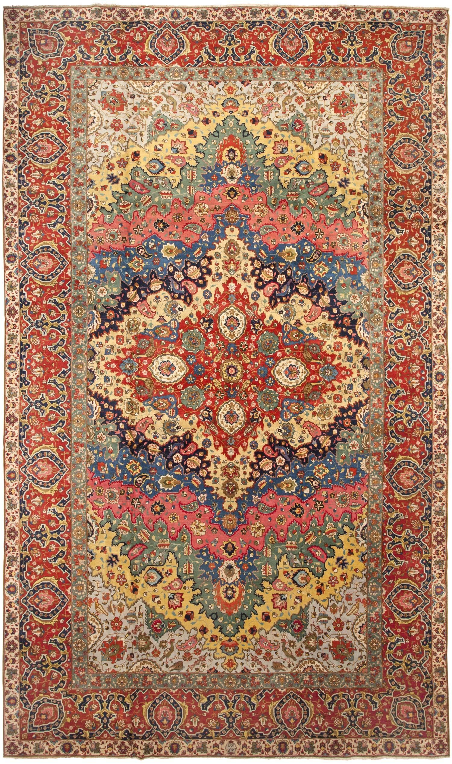 Antique persian tabriz rug its hard to go wrong when you pull antique persian tabriz rug its hard to go wrong when you pull your color scheme baanklon Gallery