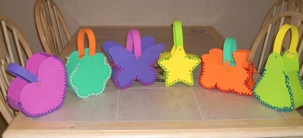 Cómo hacer bolsas con goma eva. La goma eva, foami o goma espuma es ...