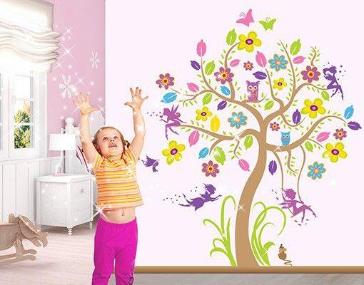 Wandtattoo #Babyzimmer #Wald - #Baum #Kinderzimmerdeko - wandgestaltung babyzimmer