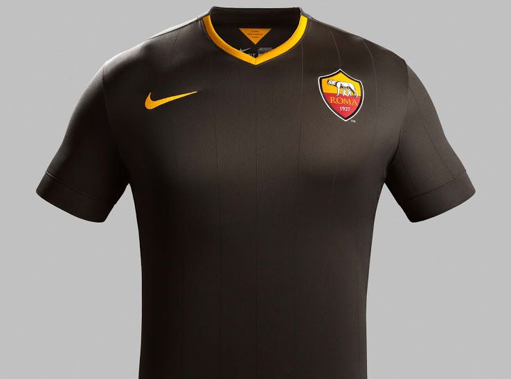 FlagWigs  Nike AS Roma 2014-15 Third Jersey Shirt Kits   Hav ... 5cdf27974