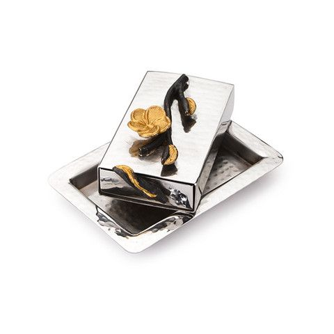 "4.5"" Match Box - Frangipani Black/Gold – Wilson Street"