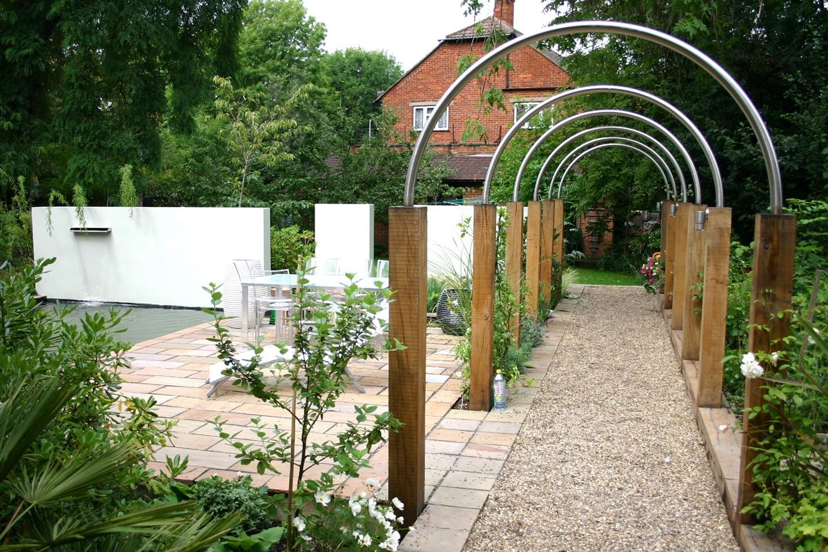 Garden Design Arches arches, water feature in garden | arbor | pinterest | puutarhat