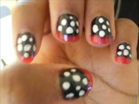Polka Nail Dots Designs Pinterest