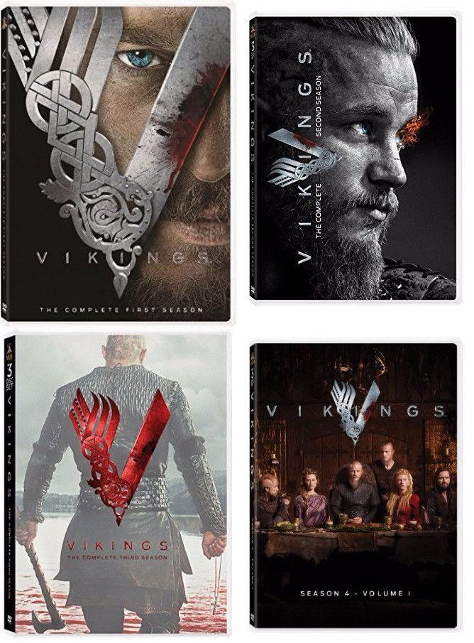 Vikings DVD Series Seasons 1-5 Set | THE VIKINGS in 2019