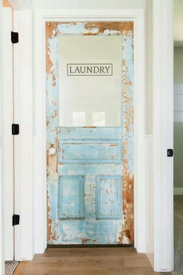 30 Antique Pantry Door Ideas For Inspiration Farmhouse Laundry Room Vintage Laundry Room Decor Laundry Room Decor