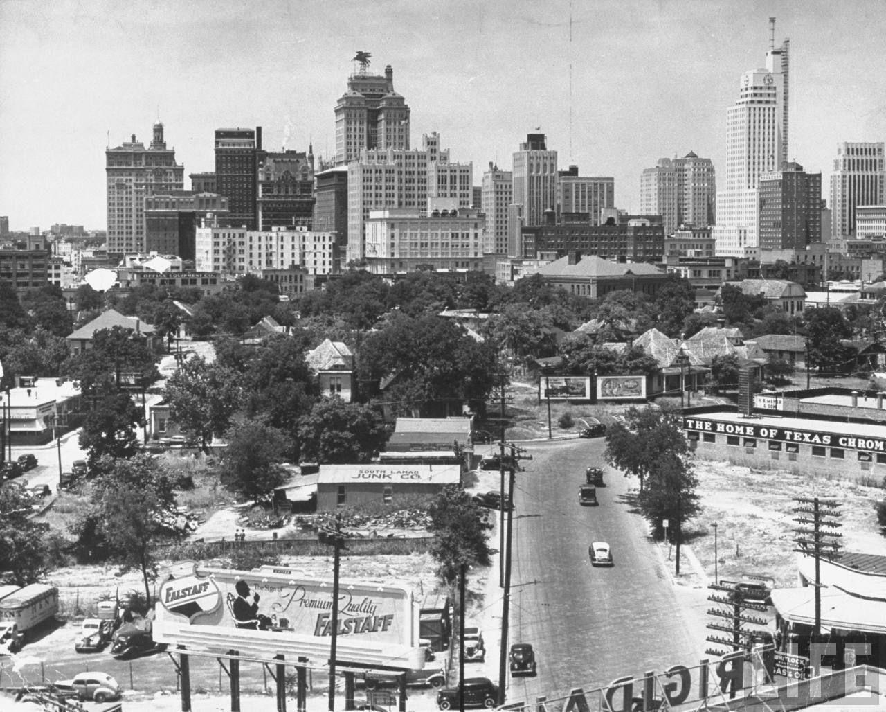 Old pictures of Dallas | PaNik | Dallas skyline, Dallas ...