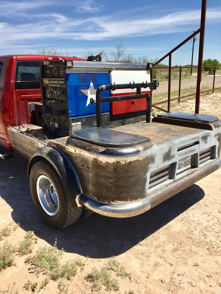 Finally Mounted It On The Truck With Images Welding Trucks