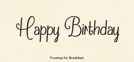 Happy Birthdayの文字に合う イイ感じな手書き欧文フォント Happy Birthday Project 誕生日 カード 手書き 誕生日 文字 バースデーカード 手書き