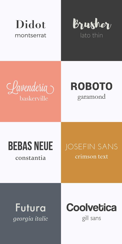 bien choisir sa typographie