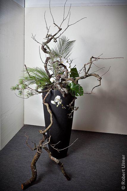 ikebana 3 gestecke blumengestecke und deko. Black Bedroom Furniture Sets. Home Design Ideas