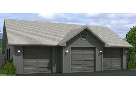 3 car garage 40x30 garage pinterest car garage and for Garage bay size