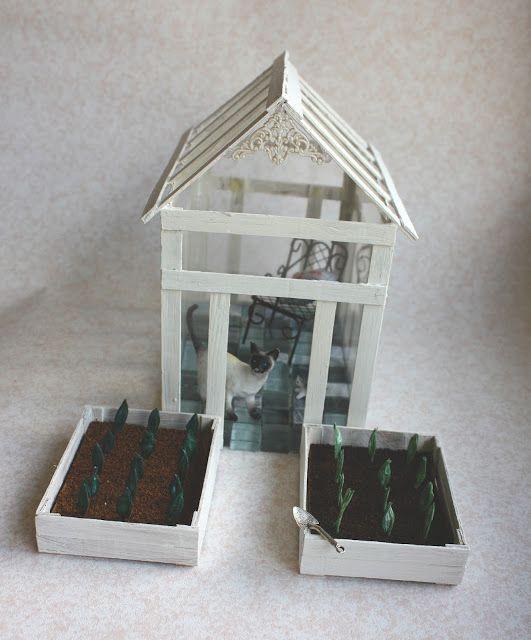Lasituvan Miniatyyrit - Lasitupa Miniatures: DIY: Garden - puutarhaan 1/12