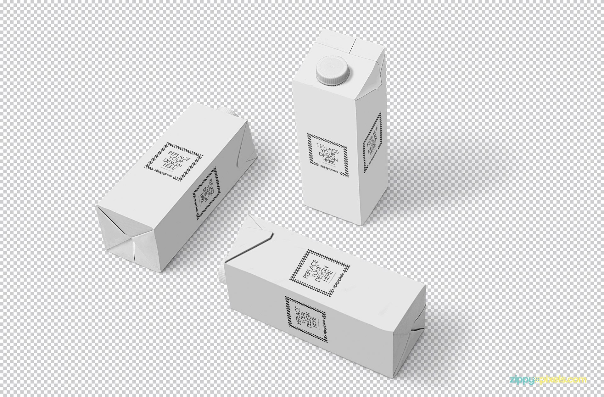 Download Free Milk Carton Mockup Zippypixels Box Mockup Free Packaging Mockup Carton Box