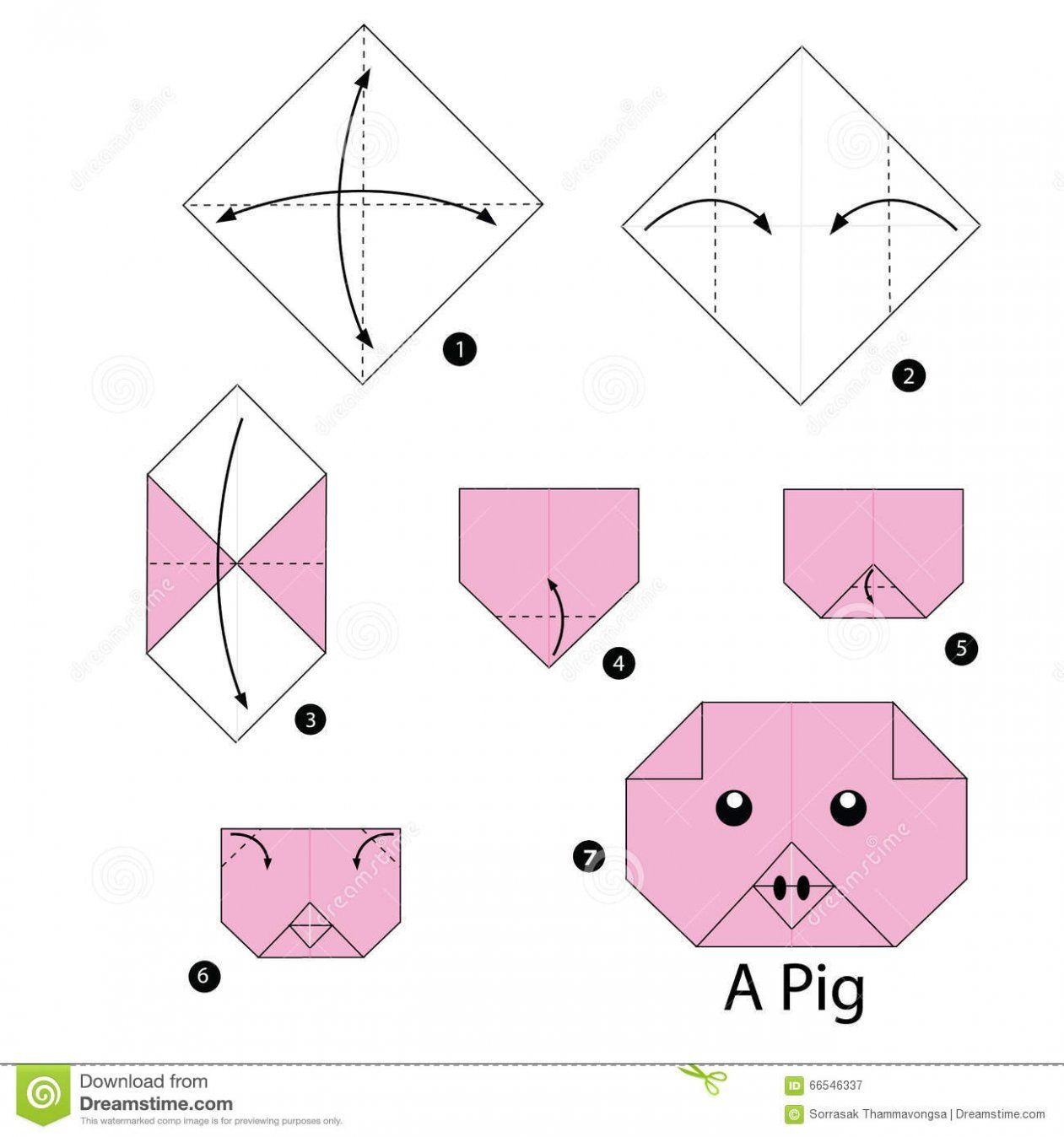 27 Exclusive Picture Of Origami Animals Step By Step