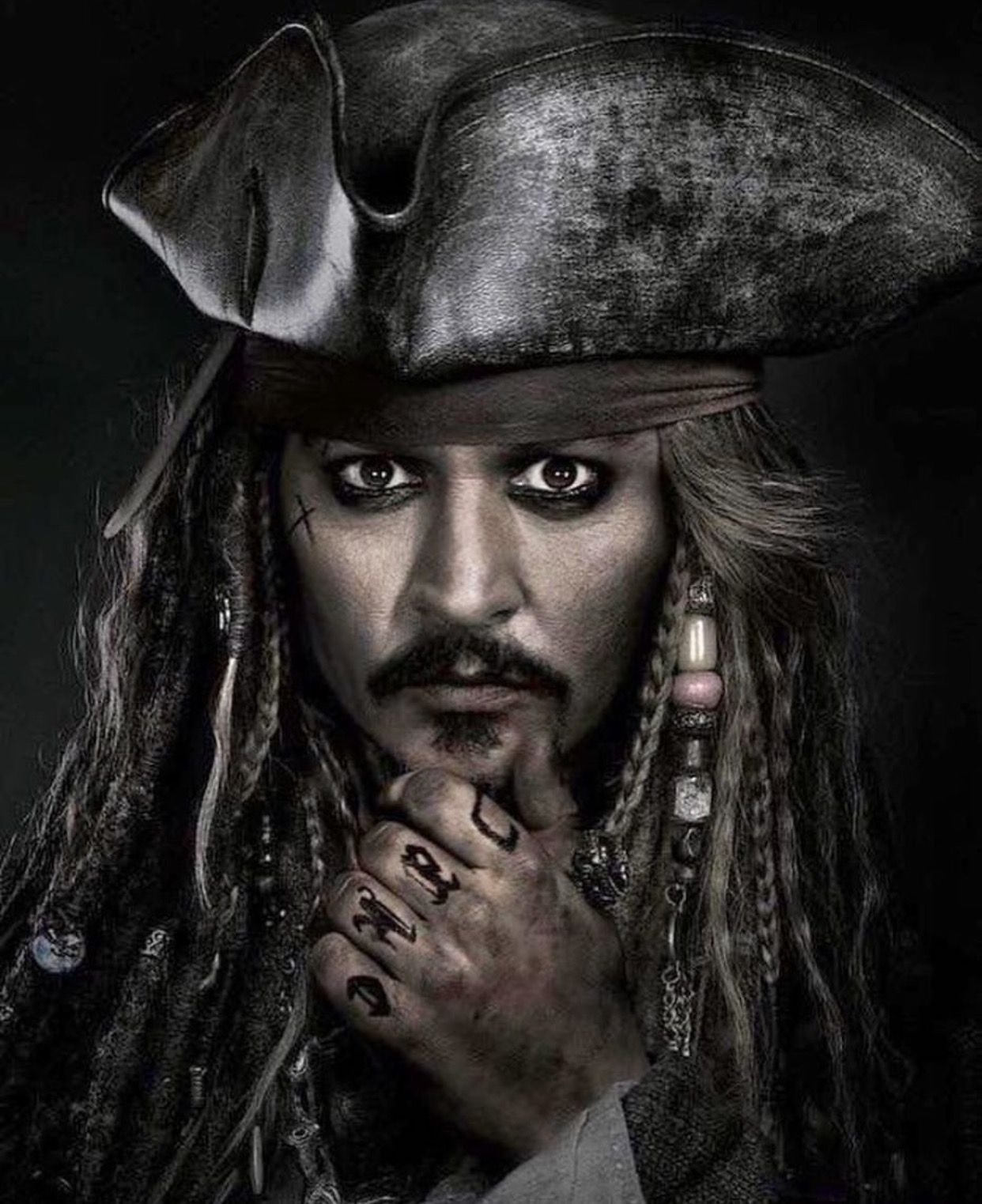 Pirates Of The Caribbean Wallpaper Hd: Captain Jack Sparrow (pirates Of