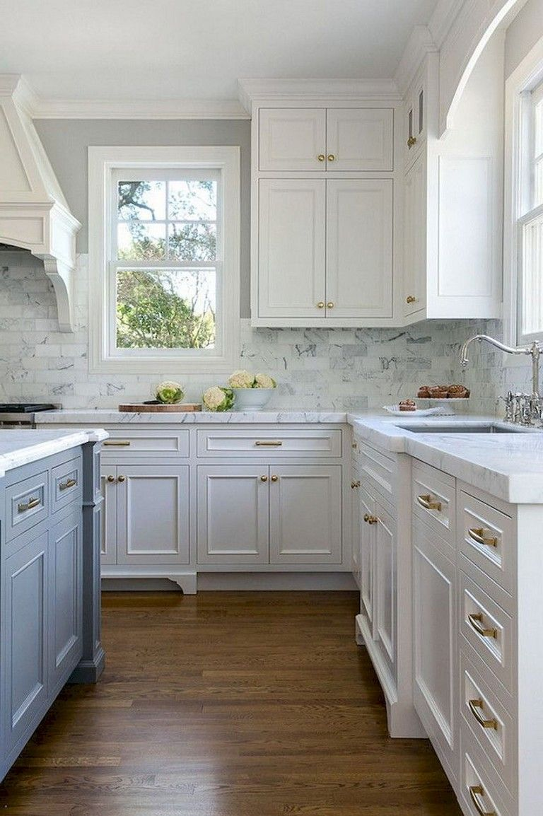 94 Remarkable Farmhouse Gray Kitchen Cabinet Design Ideas Kitchen Renovation New Kitchen Cabinets