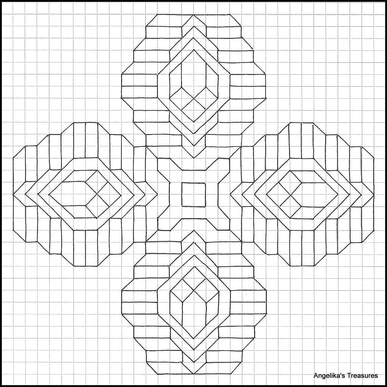 Graph Paper Art Angelika S Treasures Own Design Graph