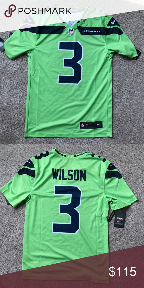 size 40 cc6ef e666b Russell Wilson color rush Jersey Russell Wilson Seattle ...