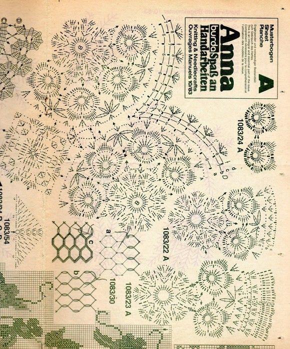 Decke + Kissen Rosen häkeln - crochet afghan + pillow